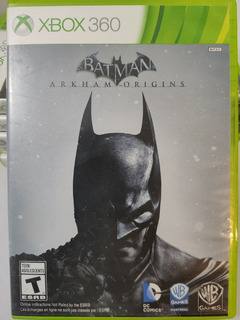 Batman Arkham Origins Xbox 360 Usado Perfecto Estado