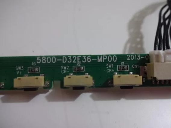 Teclado De Função Tv Semp Toshiba Dl3975i