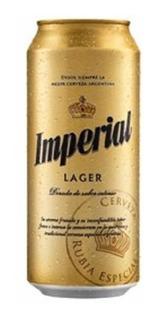 Cerveza Lata Imperial 473 Ml Oferta!! Palermo-v. Crespo!
