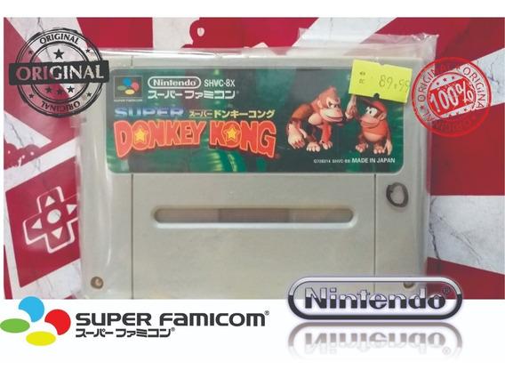 Donkey Kong 1 Super Famicom - Snes Super Nintendo - Japonês