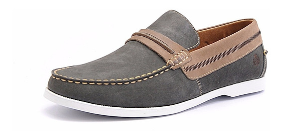 Mocassim Masculino Couro Tamanho Especial Shoes Grand 4766