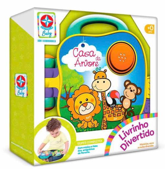 Brinquedo Livro Divertido Estrela Baby
