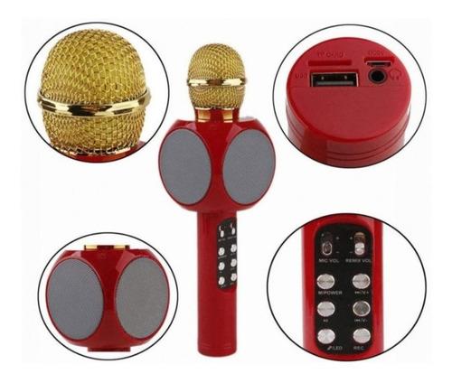 Microfono Inalambrico Karaoke Speaker