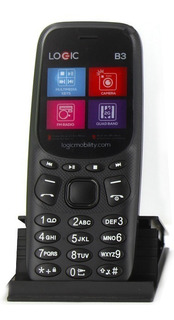 Telefono Basico Economci Logic B3 Telcel Camara Vga Fm Mp3