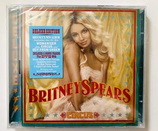 Britney Spears Circus Deluxe Version Importado De Usa & Dvd