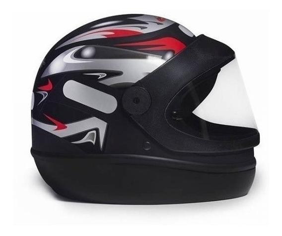 Capacete para moto integral San Marino Grafic preto tamanho 60