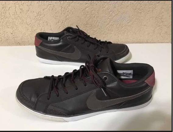 Tênis Nike Em Couro Trazido Do Japão Us 10 - 42br
