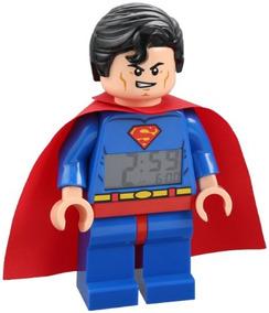 Reloj Despertador Lego Dc Super Herores
