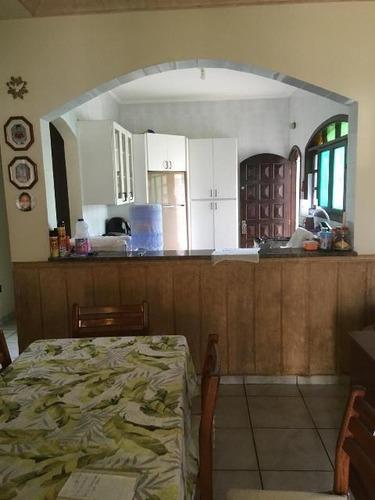 Imagem 1 de 14 de Casa Com Churrasqueira No Balneário Gaivota Em Itanhaém 4738