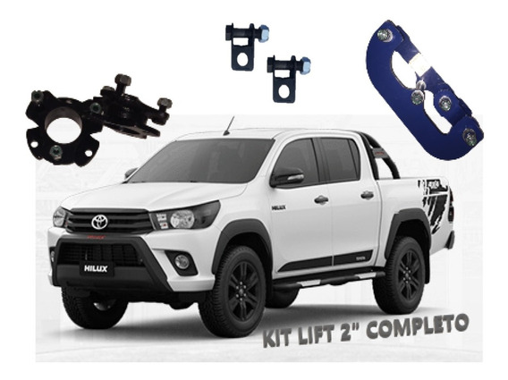 Kit Completo Lift Pickup Comfort Toyota Hilux 2016 A 2019