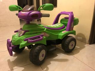 Moto Carro Electrica Infantil Montable Unisex Juguete