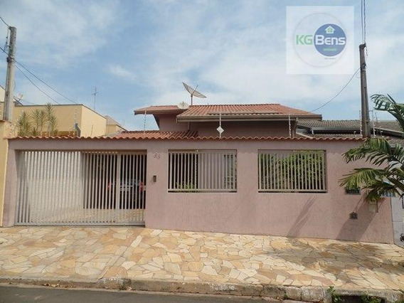 Casa Residencial À Venda, Jardim Fortaleza, Paulínia. - Ca0232