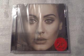 Cd De Audio Adele 25 100% Original Nuevo Y Sellado