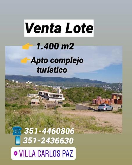 Venta Lote Hermosa Vista En B° La Loma, Carlos Paz