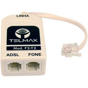 Filtro Duplo De Linha Adsl Rj11 Telefone / Modem