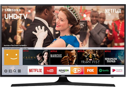 Smart Tv Led 40 Samsung 40mu6100 Uhd 4k Hdr Premium