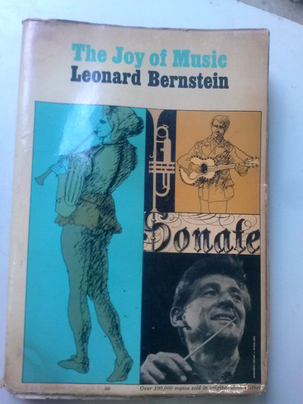 Livro - The Joy Of Music - Leonard Bernstein - Marcas
