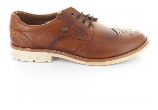 Zapato Para Niño Audaz 433601-q-049009 Color Cafe Claro