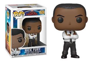 Muñeco Funko Pop Marvel Nick Fury 428 Orig!!