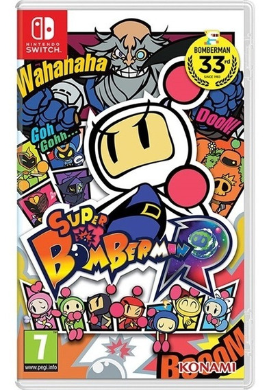 Super Bomberman R - Switch Lacrado