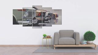 Quadro Carros Antigos Carro Máquinas Motor Quatro Rodas Car