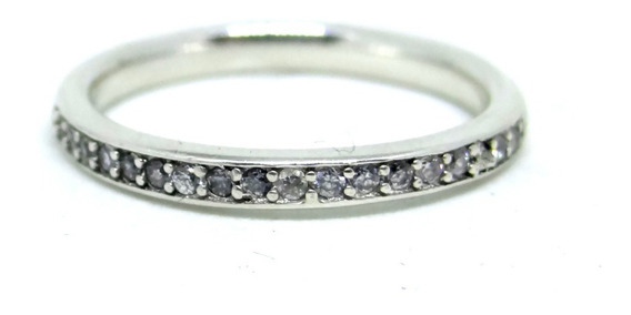 Anillo Media Churumbela Plata Fina Italiana 925 Talla Num 6
