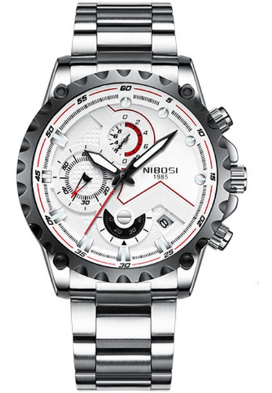 Relógio Nibosi Militar Original Funcional Pronta Entrega
