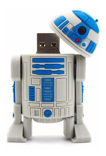 Pendrive R2-d2 Star Wars 16gb Memoria Usb