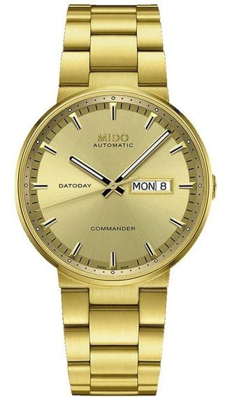 Reloj Mido M0144303302180 Para Caballero Ext De Acero