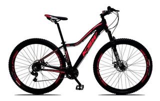 Bicicleta Feminina Sunny Aro 29 Quadro 17 Alumínio 21v Suspe