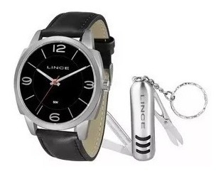 Relógio Lince Mrc4541l Kf66 Couro Original
