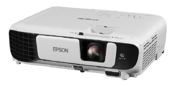 Projetor Epson Powerlites S41+ 3300 Lumens Svga Branco Novo