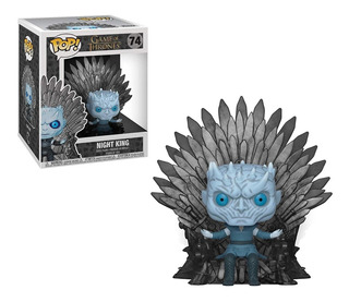Pop! Deluxe Game Of Thrones Night King On Iron Throne