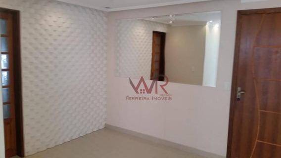 Apartamento Em Ferraz Divisa Com Itaim Paulista - Ap0744