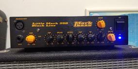 Cabeçote Baixo Markbass Bass Little Mark 250 Black Line