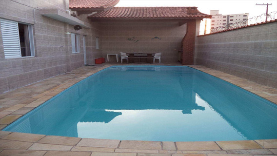 Casa Em Mirim, Praia Grande/sp De 190m² 6 Quartos À Venda Por R$ 800.000,00 - Ca341848