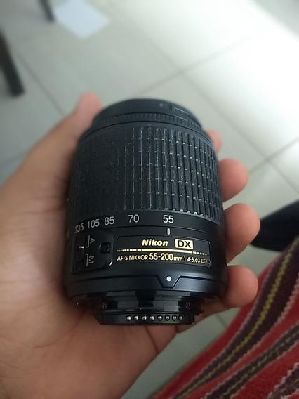 Lente Nikon Dx Af-s 55-200mm 1:4-5.6g Ed