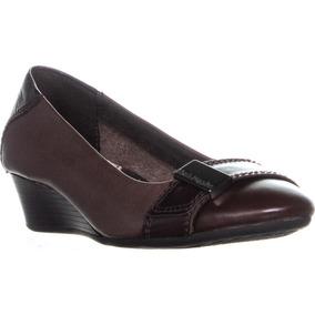 Zapatos Hush Puppies Candid Pump_or Dark Brown No. H506685