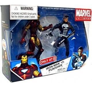 Marvel Universe Iron Man Vs. Punisher - Hasbro Disney