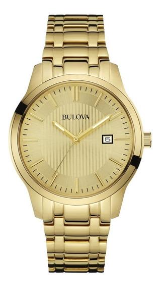 Relógio Unisex Bulova Dourado Wb22444g - 97b145