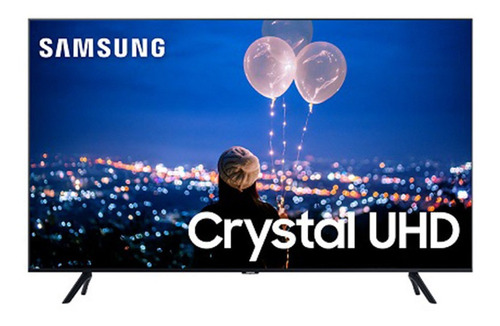 Imagem 1 de 8 de Smart Tv Samsung 55 Polegadas Crystal 4k Un55tu8000gxzd
