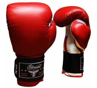 Guantes De Box O Kickboxing Palomares Piel Genuina
