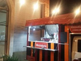 Food Truck Completo Com O Carro Pronto Para Trabalhar!