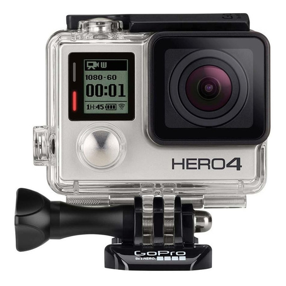 Câmera Gopro Hero4 Silver Adventure Wi Fi 12 Mp 4k Go Pro