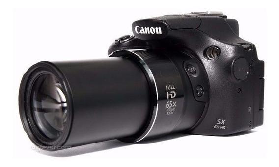 Câmera Original, Canon Sx60, Bolsa, Cartão 16gb Classe10,...