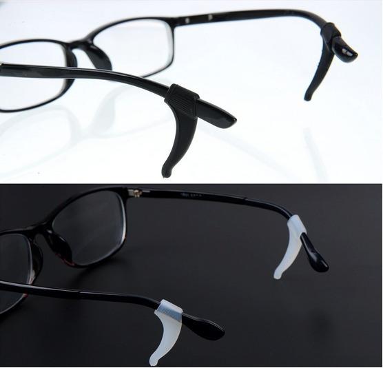 2 Pares Ganchos Soportes Para Detener Lentes Gafas