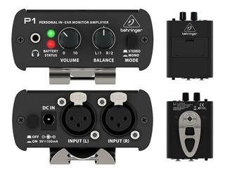 Behringer P1 Sistema De Monitoreo Personal Amplificador