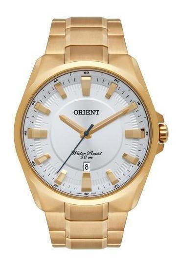 Relógio Orient Analógico Mgss1174 S1kx Dourado
