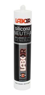 Sellador Silicona Neutra Transparente 280 Ml Lab01210 Mm