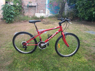 Bicicleta Mountain Bike Olmo Safari Rodado 24Anda Perfecto